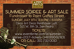 Arts District Summer Soiree July 9th